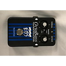 EBS Octabass Triple Mode Bass Octave Divider Bass Effect Pedal