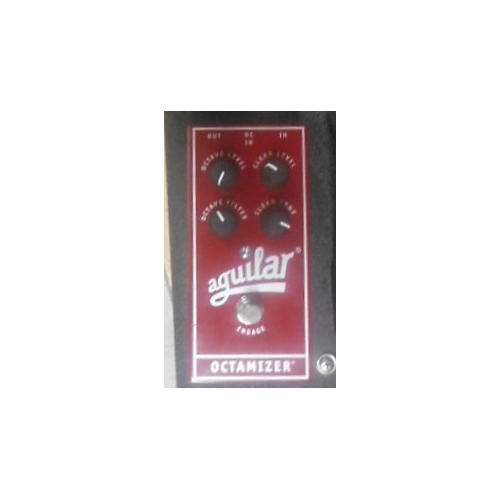 Aguilar Octamizer Analog Octave Red Bass Effect Pedal-thumbnail