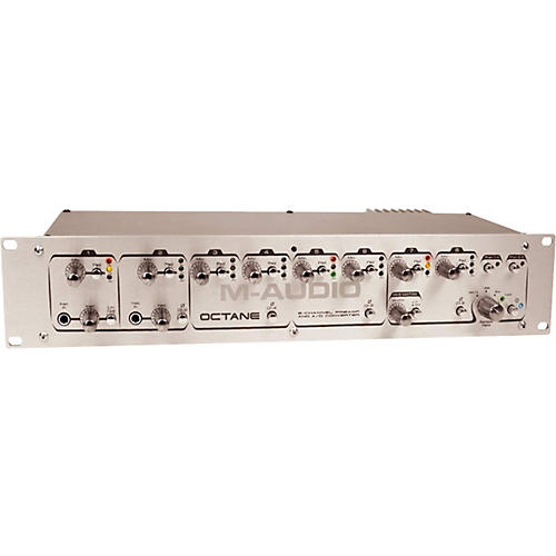 M-Audio Octane 8-Channel Mic Preamp with ADAT Lightpipe
