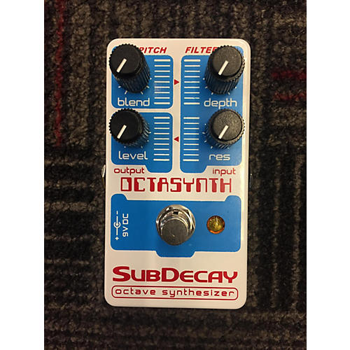 Subdecay Octasynth Effect Pedal
