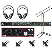 Focusrite OctoPre and 18i18 Recording Bundle With AKG M80mkII Headphones