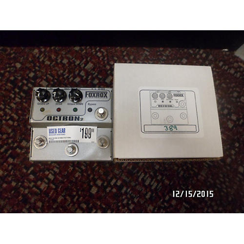 In Store Used Octron2 Effect Pedal-thumbnail