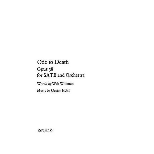 Novello Ode to Death (Op.38) SATB Composed by Gustav Holst
