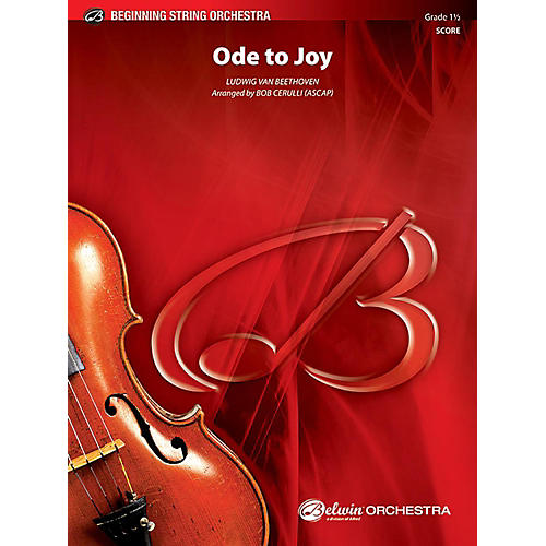 Alfred Ode to Joy String Orchestra Grade 1 Set