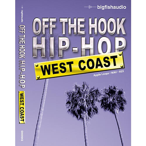 Big Fish Off The Hook Hip Hop: West Coast Audio Loops-thumbnail