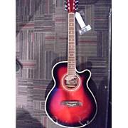 Oscar Schmidt Og10cerftr Acoustic Electric Guitar