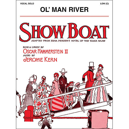 Hal Leonard Ol' Man River Low C From Show Boat Vocal Solo-thumbnail