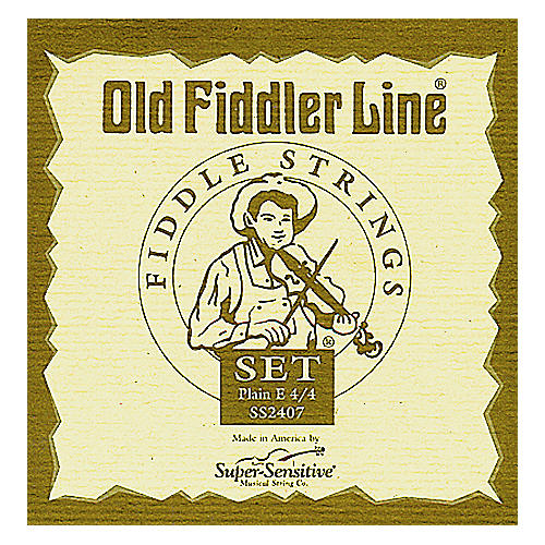 Super Sensitive Old Fiddler Violin Strings Set, Medium 4/4 Size-thumbnail