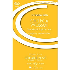 Boosey and Hawkes Old Fox Wassail 2-Part Any Comb. 2-Part a cappella arra... by Boosey and Hawkes