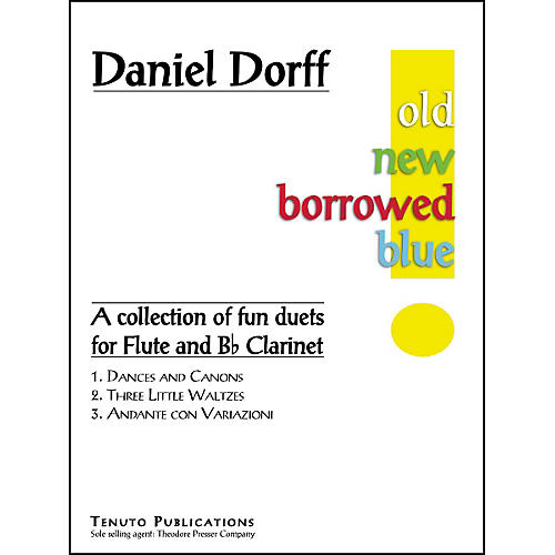 Carl Fischer Old New Borrowed Blue Book