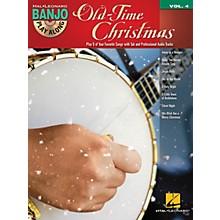 Hal Leonard Old-Time Christmas (Banjo Play-Along Volume 4) Banjo Play Along Series Softcover with CD