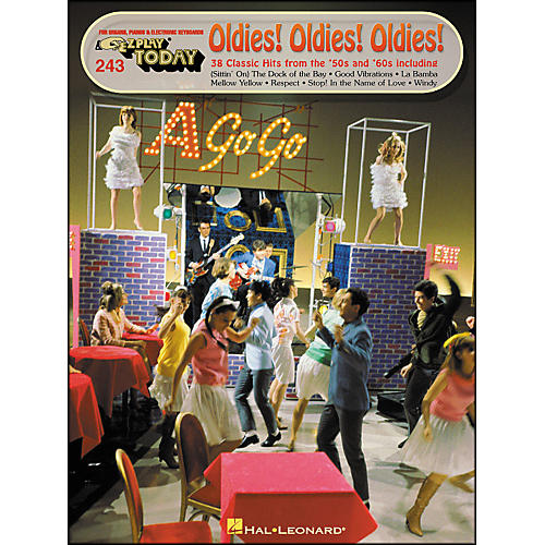 Hal Leonard Oldes! Oldies! Oldies! 38 Classic Hits From The 50's And 60's E-Z Play 243-thumbnail