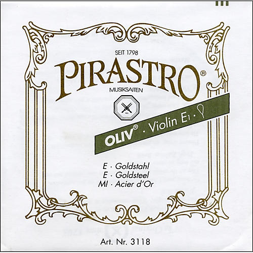 Pirastro Oliv Series Violin D String 4/4 - Gold / Aluminum 17 Gauge