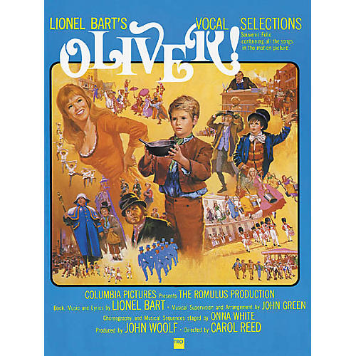 Richmond Organization Oliver! Vocal Selections Songbook-thumbnail