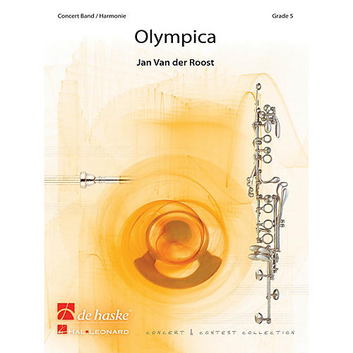 Hal Leonard Olympica Score Only Concert Band