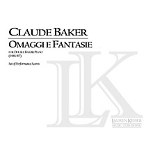 Lauren Keiser Music Publishing Omaggi e Fantasie (Double Bass with Piano) LKM Music Series Composed by Claude Baker