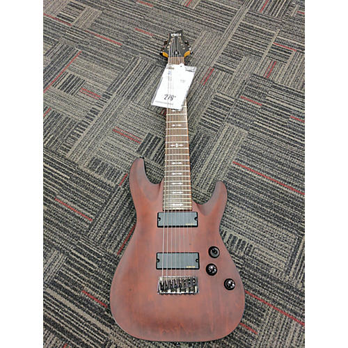 Schecter Guitar Research Omen 8 Solid Body Electric Guitar-thumbnail