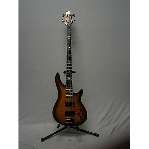 used schecter guitar research omen extreme 4 string electric bass guitar sunburst guitar center. Black Bedroom Furniture Sets. Home Design Ideas