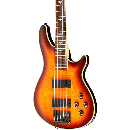 Schecter Guitar Research Omen Extreme-5 5-String Electric Bass Guitar-thumbnail