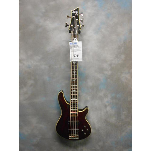 Schecter Guitar Research Omen Extreme 5 String Electric Bass Guitar-thumbnail