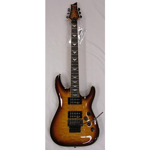 Schecter Guitar Research Omen Extreme 6 Floyd Rose Solid Body Electric Guitar-thumbnail