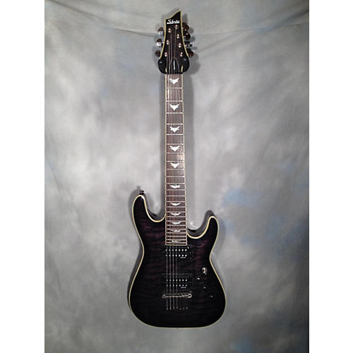 Schecter Guitar Research Omen Extreme 7 Solid Body Electric Guitar-thumbnail