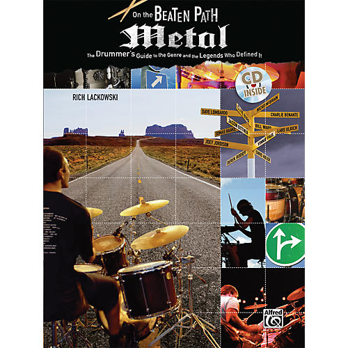 Alfred On The Beaten Path: Metal - The Drummer's Guide (Book/CD)