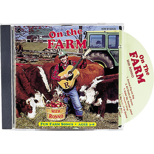 Kimbo On The Farm with Ronno CD/Guide