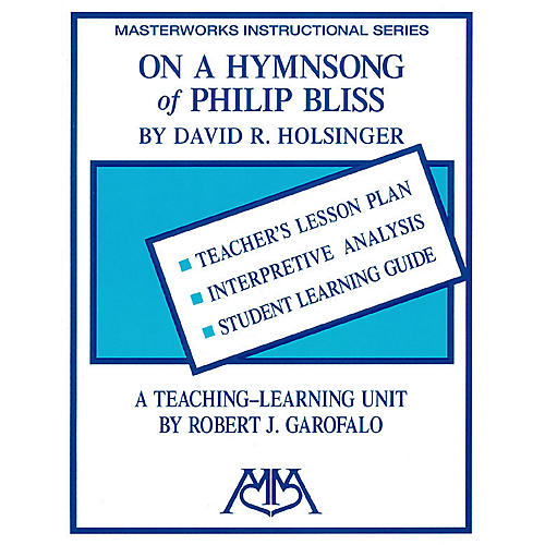 Meredith Music On a Hymn Song of Philip Bliss Concert Band Composed by Robert Garofalo