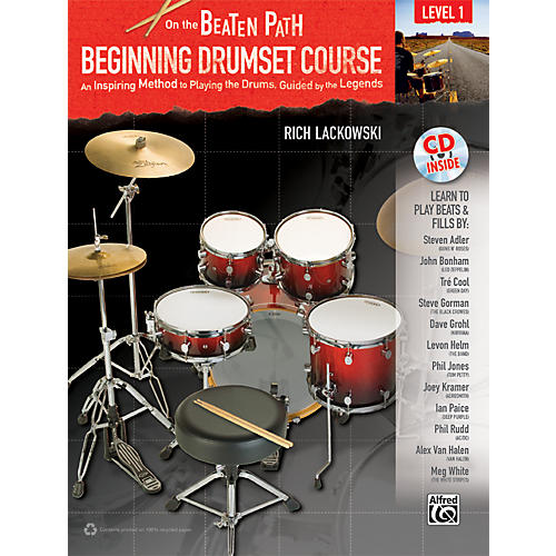 Alfred On the Beaten Path Beginning Drumset Course Level 1 with CD-thumbnail