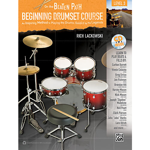 Alfred On the Beaten Path: Beginning Drumset Course Level 3 Book/CD