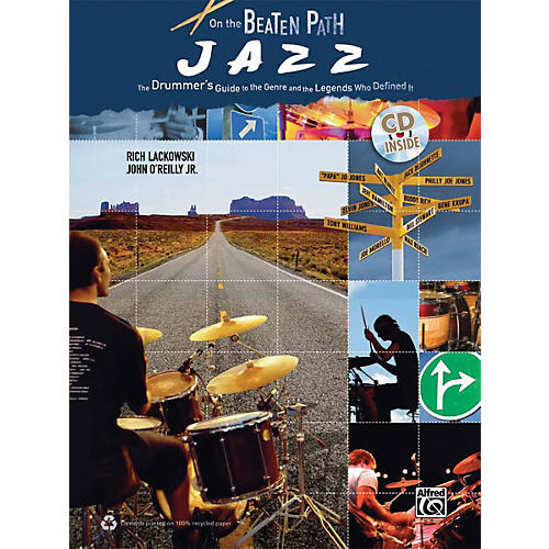 Alfred On the Beaten Path Jazz (Book & CD)-thumbnail