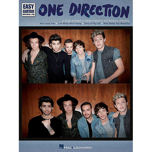Hal Leonard One Direction - Easy Guitar With Tab