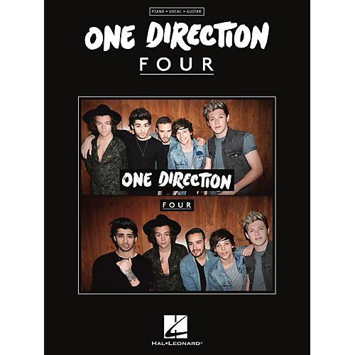 Hal Leonard One Direction - Four for Piano/Vocal/Guitar-thumbnail