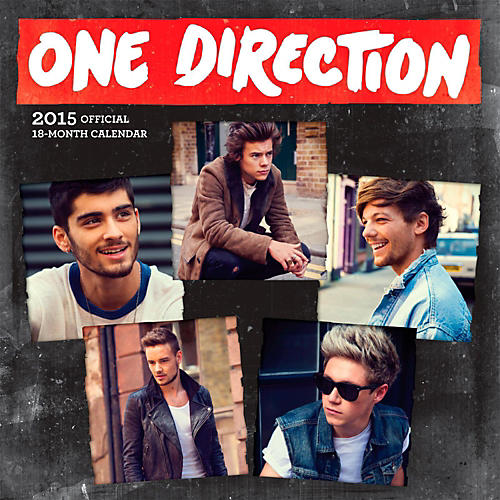 Browntrout Publishing One Direction 2015 Calendar Square 12x12