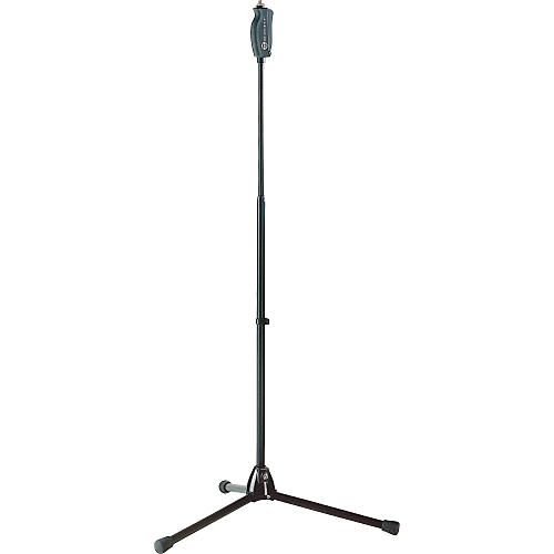 K&M One-Hand Microphone Stand with Tripod Base