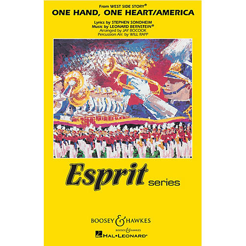 Hal Leonard One Hand, One Heart/america (from west Side Story_ Full Score Marching Band