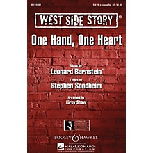 Leonard Bernstein Music One Hand, One Heart (from West Side Story) TTBB A Cappella Arranged by Kirby Shaw