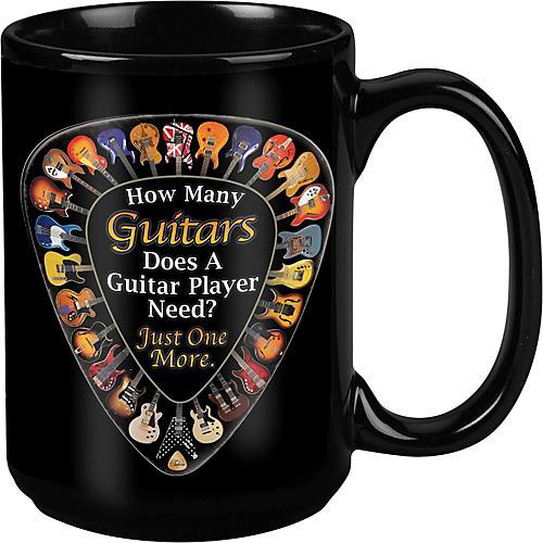 Taboo One More Guitar Black Mug 15 oz