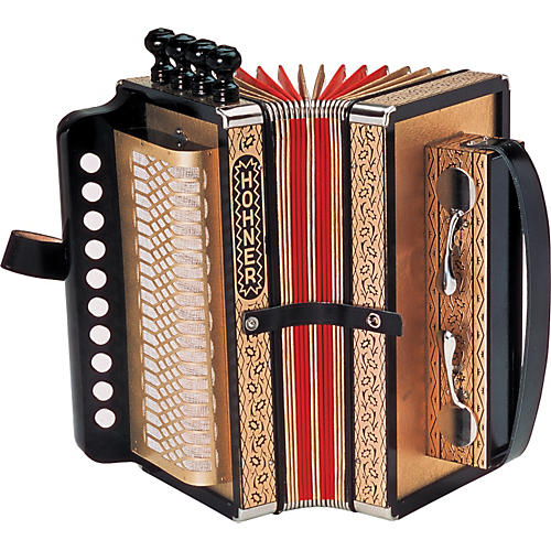 Hohner One Row Cajun Accordion-thumbnail