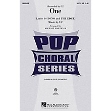 Hal Leonard One SSA by U2 Arranged by Michael Hartigan