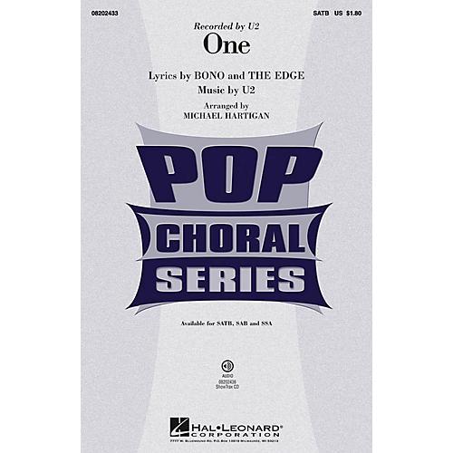 Hal Leonard One SSA by U2 Arranged by Michael Hartigan-thumbnail