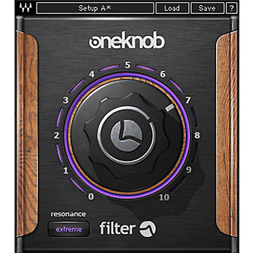 Waves OneKnob Filter Native/SG Software Download-thumbnail