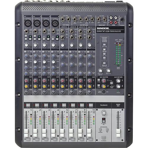 Mackie Onyx 1220 12-Channel Mixer-thumbnail