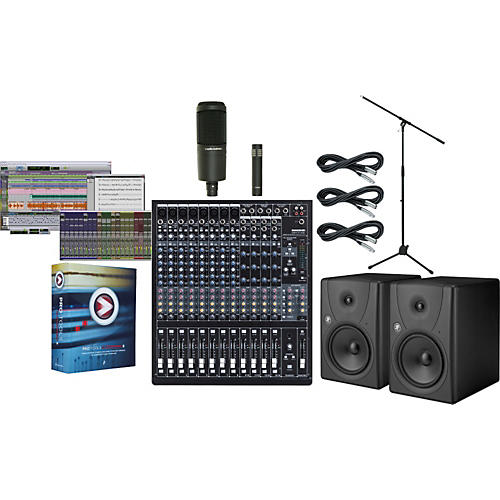 Mackie Onyx 1620i Pro Tools M-Powered Package