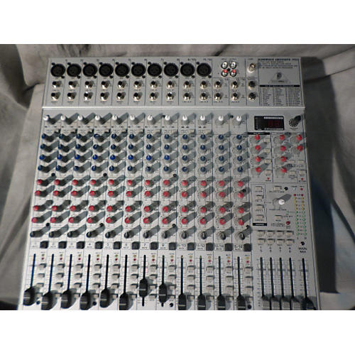 Mackie Onyx 1640 With Firewire Option Unpowered Mixer