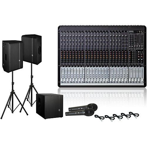 Mackie Onyx 24.4 / HD1221 / HD1501 PA Package