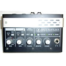 Mackie Onyx Black Jack Audio Interface