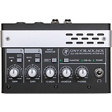 Mackie Onyx Blackjack Premium 2x2 USB Recording Interface Level 1