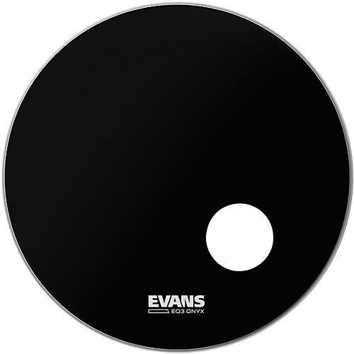 Evans Onyx Resonant Bass Drumhead 20 in.